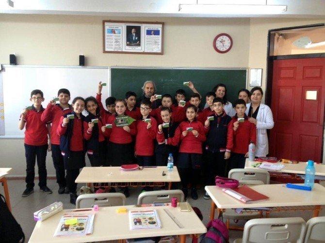 Salihli TEMA Öğrencilere Ağaç Kardeşliğini Anlattı