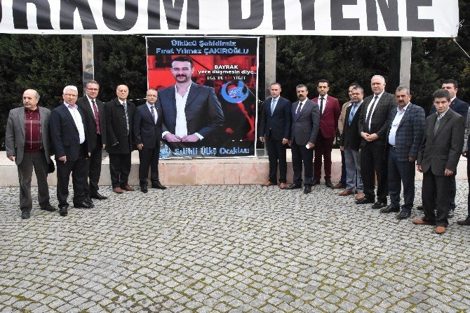 Salihli'de Fırat Çakıroğlu Anısına Lokma Döküldü