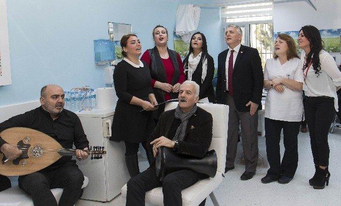 Hastalara Moral Eğlencesi