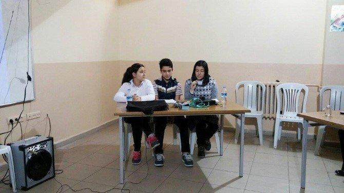 Hisarcık Şehitler Ortaokulunda Münazara