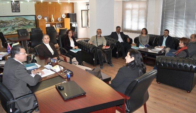 Başkan Turgut Oda Başkanlarını Ağırladı