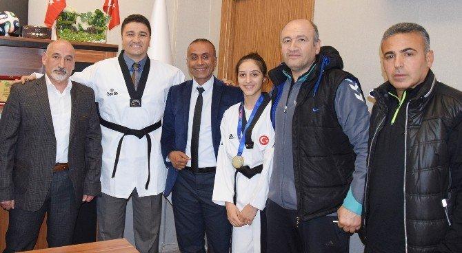 Taekwondoculardan Ökkeş Demir'e Ziyaret