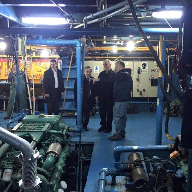 Tekirdağ Valisi Salihoğlu Balıkçıları Ziyaret Etti