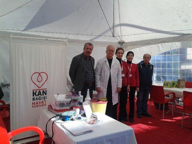 Avcılar Derneği Ve Kızılay İşbirliğinde Kan Bağışı Kampanyası