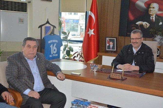 TFF'den Başkan Özkan'a Ziyaret