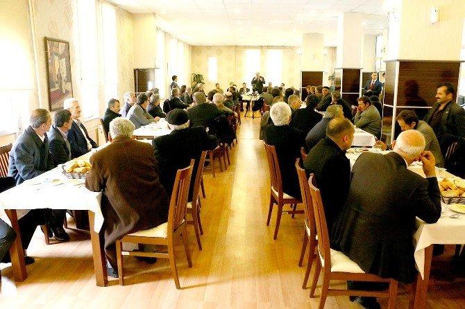 Aziziye'de İstişare Toplantıları Sürüyor