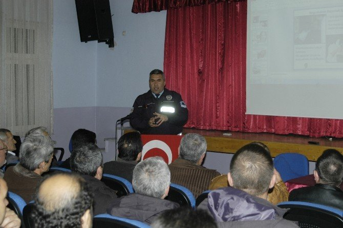 Malkara'da Şoförlere Trafik Eğitimi Verildi