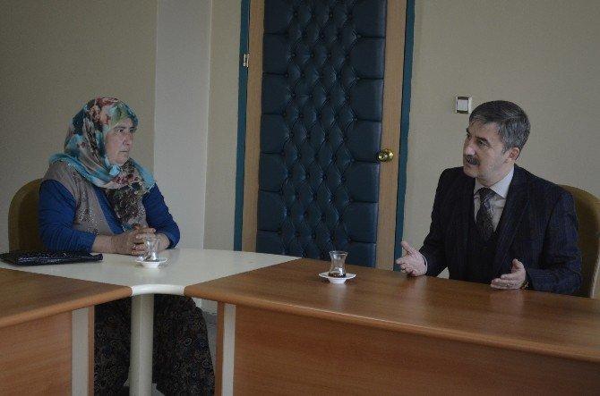 Çıkrıkçılı Hanımlardan Başkan Şirin'e Ziyaret