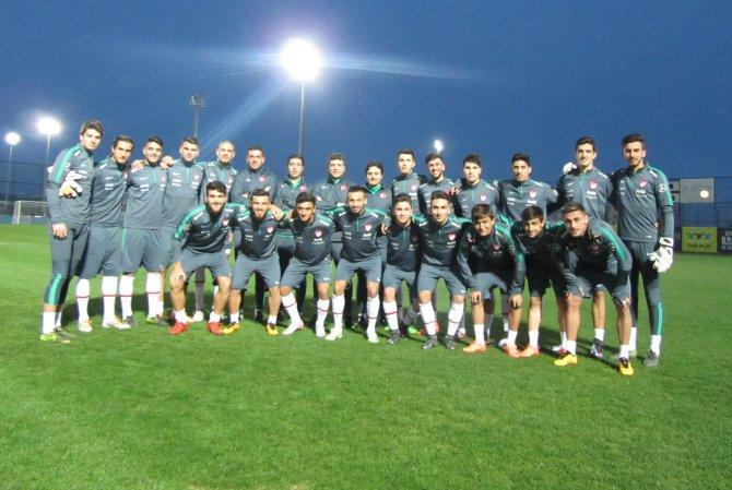 U19 Milli Takımı hazırlıklarını tamamladı