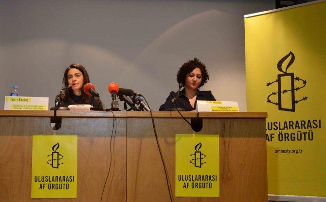 Uluslararası Af Örgütü'nden Türkiye'ye kırmızı kart