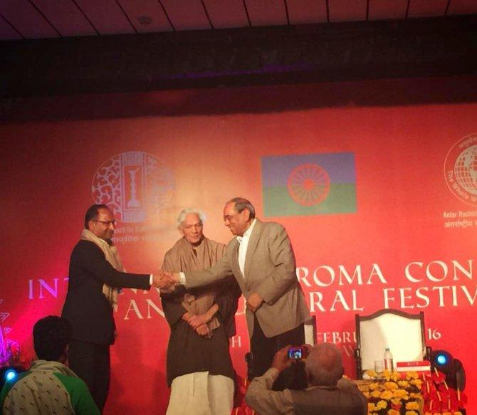 CHP'nin Roman Milletvekili Purçu, Hindistan'daki Roman festivaline katıldı
