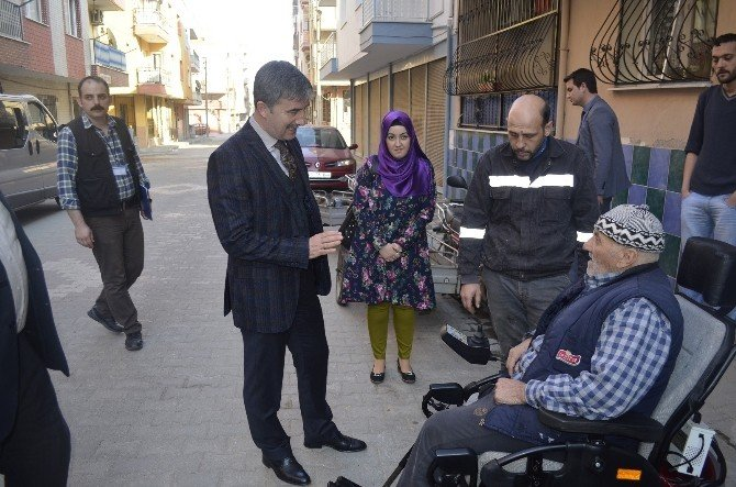 Engelli Vatandaşların Yüzleri Belediyeyle Gülüyor