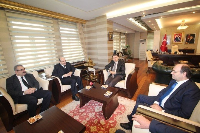 YÖK Başkanı Prof. Dr. Yekta Saraç Ağrı'da