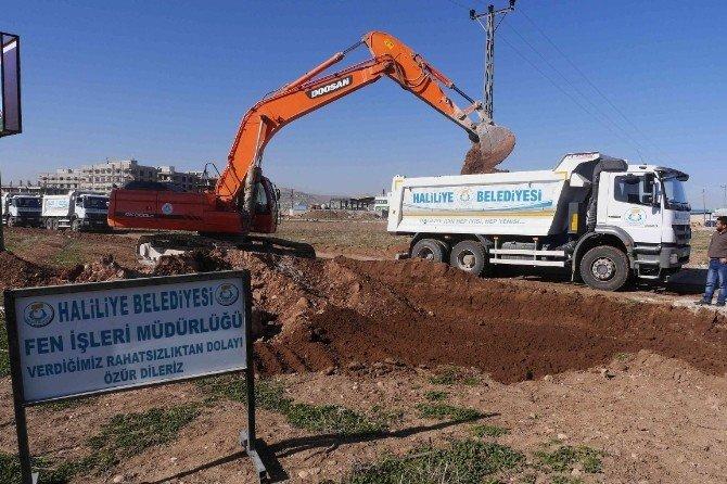 Haliliye Belediyesi Kırsal Mahallelerde Yeni Yollar Yapıyor