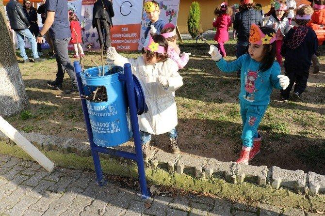 Yunusemre'de Geri Dönüşüm Bilinci Oluşuyor