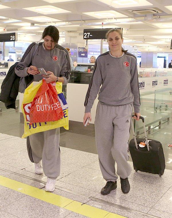 A Milli Kadın Basketbol Takımı yurda döndü