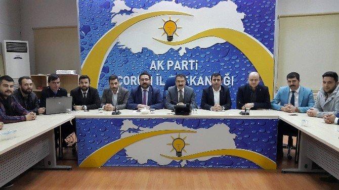 AK Parti İl Başkanı Bekiroğlu, Gençlerle Buluştu