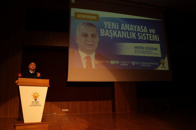 AK Parti Genel Başkan Yardımcısı'ndan Erdoğan'a Yavuz Sultan Selim benzetmesi