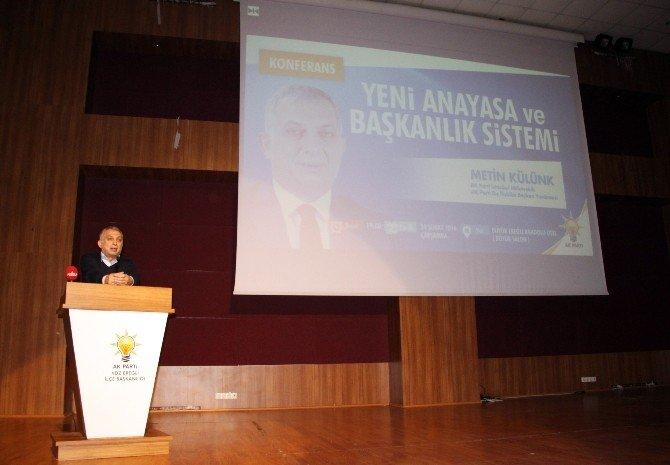 "AK Parti'li Külünk: ""Recep Tayyip Erdoğan Bu Yüzyılın Yavuz Sultan Selimidir"""