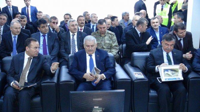 Yüksek Hızlı Tren T-9 Tüneli törenle açıldı