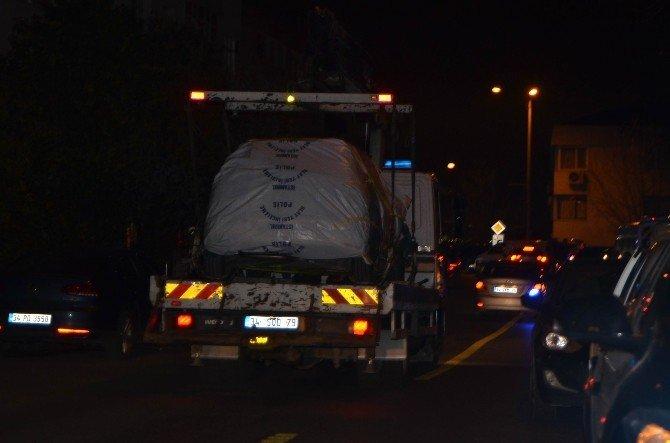 Boğaziçi Üniversitesi'ndeki Şüpheli Araç 4 Buçuk Saat Sonra Çıkartıldı