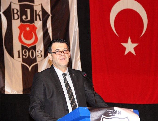 Aydın Beşiktaşlılar Derneği'nde İbrahim Pehlivan güven tazeledi