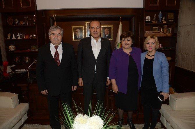 Sözlü'ye Azerbaycan'dan Destek