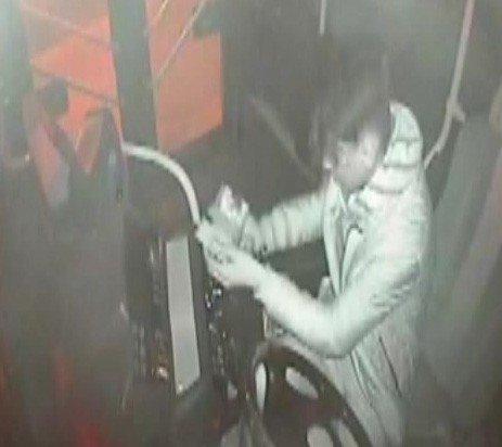 On Gün Arayla Aynı Özel Halk Otobüsüne Yine Hırsız Girdi