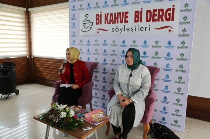 Başakşehir'de 'Bi Kahve Bi Dergi' Söyleşileri Başladı