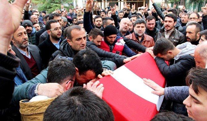 Türkmendağı'nda Şehit Olan Tüle, Son Yolculuğuna Uğurlandı