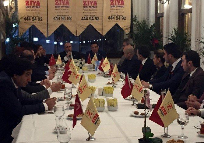 """Başkan Osman Ünsal: """"Devletinin Arkasında Olan Bir Yapıyla Yolumuza Devam Edeceğiz"""""""