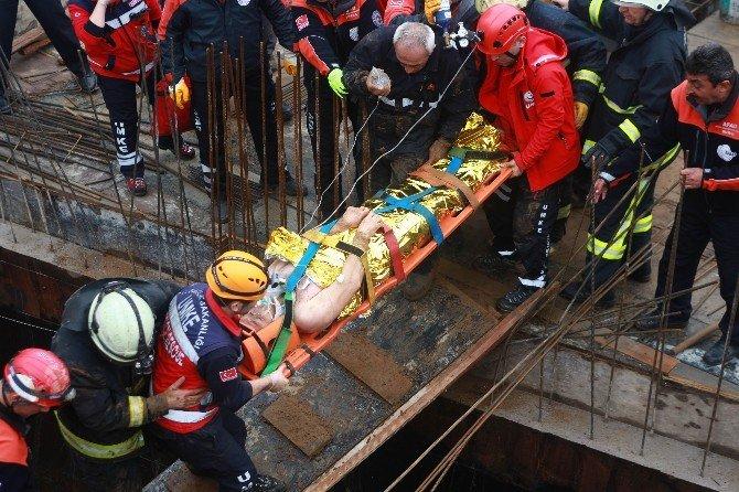 Bursa'da Göçük Faciası: 2 Yaralı