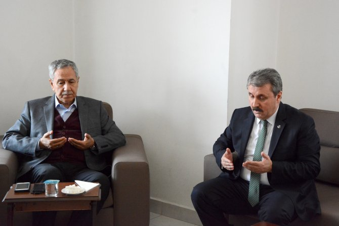 BBP Genel Başkanı Destici'den, Arınç'a taziye ziyareti