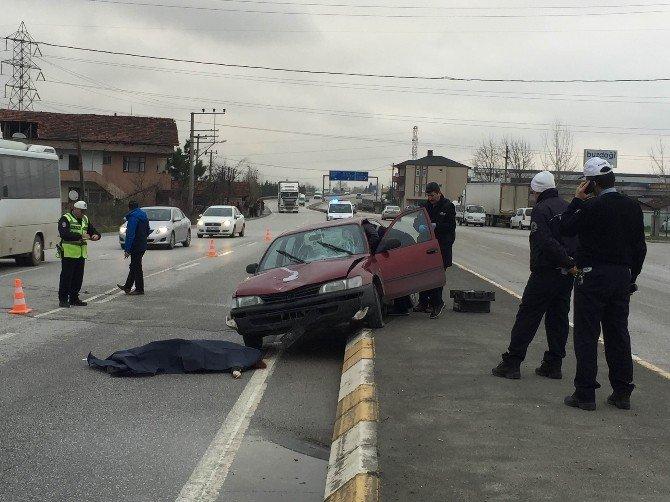 Otomobilin Çarptığı Genç Kız Hayatını Kaybetti