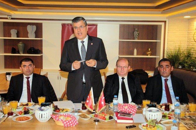 """Barut: """"Başarı Kıstasımız Büyükşehir'i CHP'li Yapmak"""""""