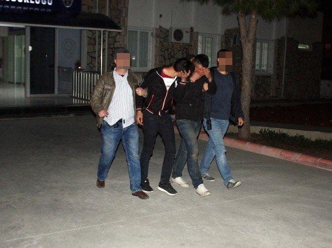 Didim'de Tekne Motoru Hırsızları Tutuklandı