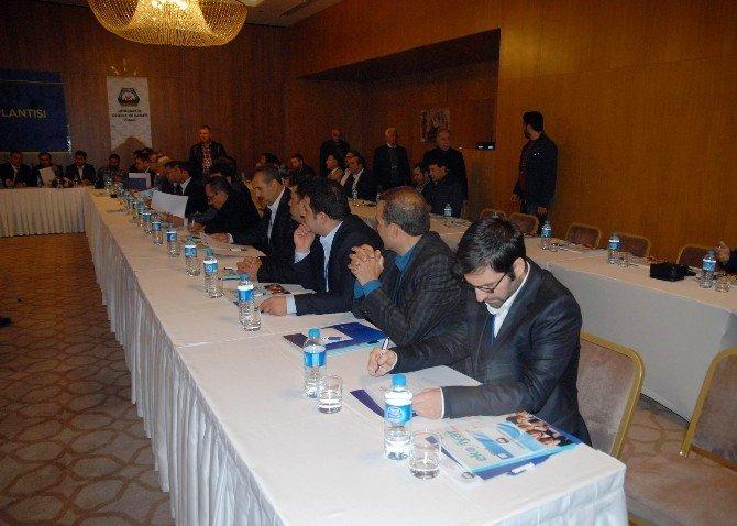 Diyarbakır'da İnşaat Sektör Toplantısı Gerçekleştirildi
