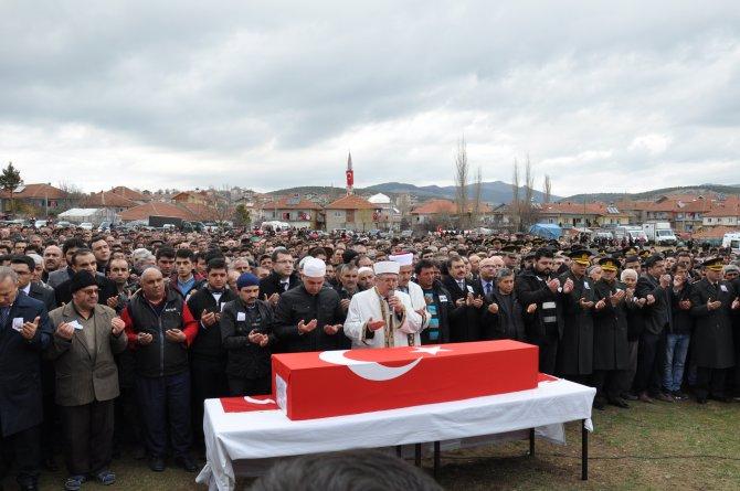 Şehit Uzman Çavuş Mustafa Hakan Kacar, son yolculuğuna uğurlandı