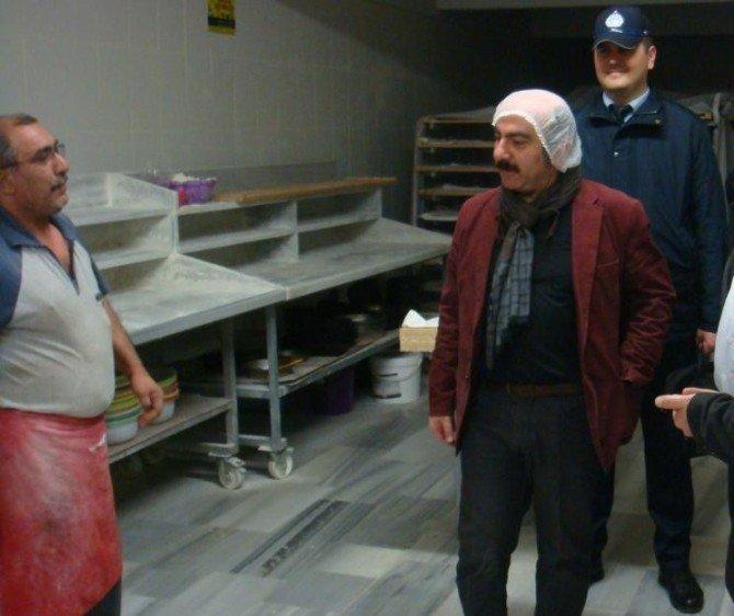 Edirne'de Fırınlar Denetleniyor