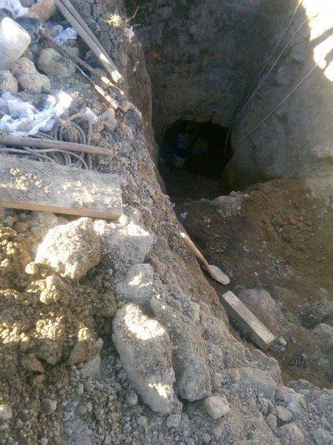 İnönü'de İzinsiz Kazı
