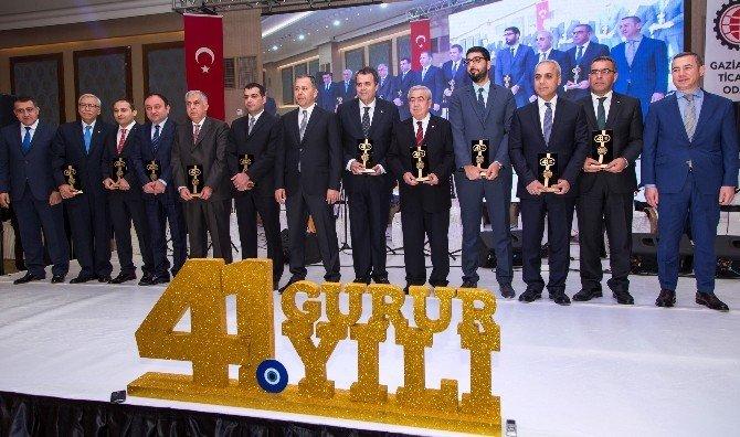Ticarette 41. Gurur Yılı Ödül Töreni