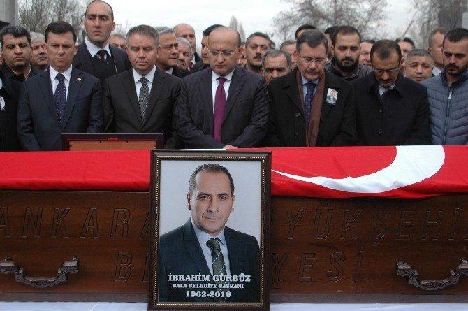 Geçirdiği Kazanın Ardından Ölen Bala Belediye Başkanı İçin Tören Düzenlendi