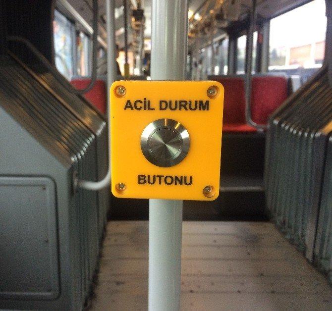 İETT Otobüslerine'acil Durum Butonu'
