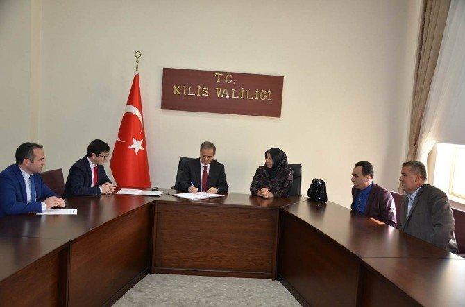 """2016'nın İlk """"Güdümlü Proje""""sinin Startı Kilis'ten Verildi"""