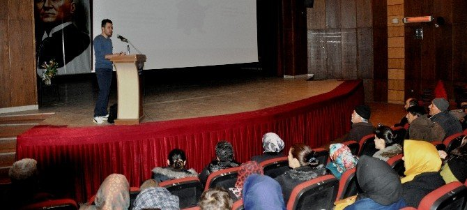 Iğdır'da İş Sağlığı Ve Güvenliği Eğitimi Semineri