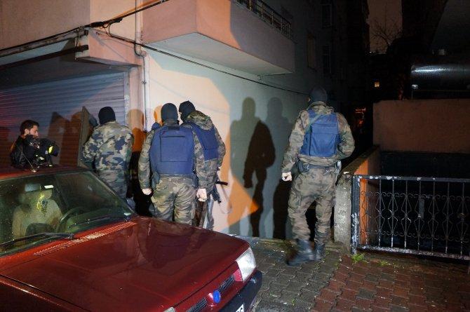 Bahçelievler'de polis baskını