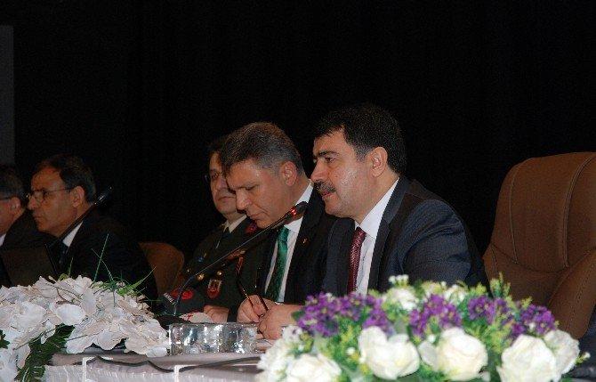 İstanbul Valisi Şahin Eyüp İlçe Yöneticileri İle Bir Araya Geldi