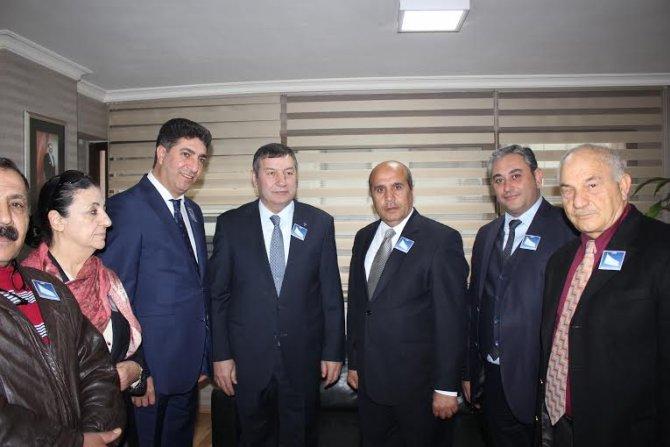 Beyaz Sivil İnisiyatif, MHP'yi ziyaret etti