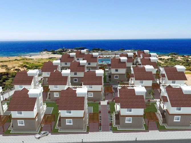Dikili'ye Midilli Adası Manzaralı Villa Projesi