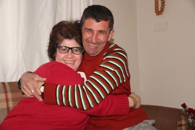 Engelli çift 'Bizim Ev'le muradına erdi